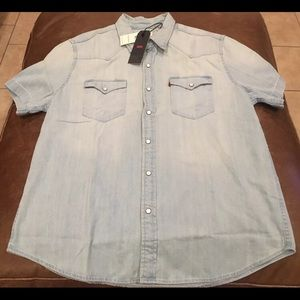Levi's Western Shirt Size XL Men's New With Tags
